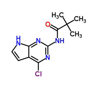 149765-15-1 N-(4-chloro-7H-pyrrolo[2,3-d]pyrimidin-2-yl)-2,2-dimethylpropanamide