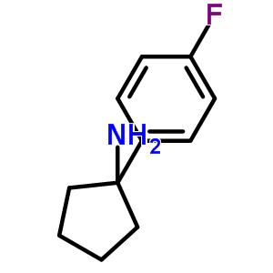 160001-92-3 1-(4-fluorophenyl)cyclopentanamine