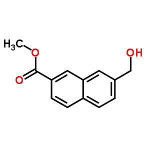 162514-08-1 methyl 7-(hydroxymethyl)naphthalene-2-carboxylate