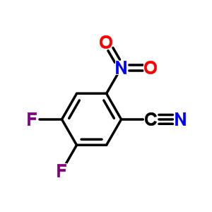 165671-05-6 4,5-difluoro-2-nitrobenzonitrile