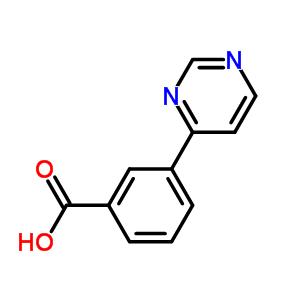 168619-01-0 3-(pyrimidin-4-yl)benzoic acid