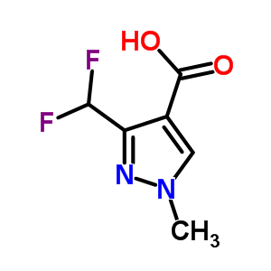 3-(Difluoromethyl)-1-methyl-1H-pyrazole-4-carboxylic acid 176969-34-9