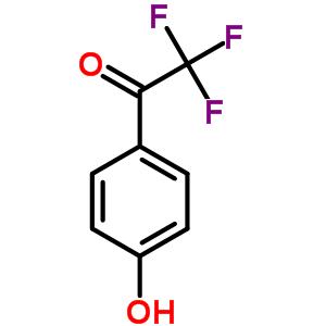 2,2,2-Trifluoro-1-(4-hydroxyphenyl)ethanone 1823-63-8