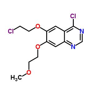 183322-19-2 4-chloro-6-(2-chloroethoxy)-7-(2-methoxyethoxy)quinazoline
