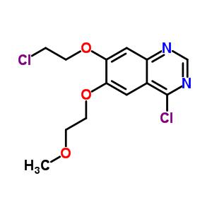 183322-20-5 4-chloro-7-(2-chloroethoxy)-6-(2-methoxyethoxy)quinazoline
