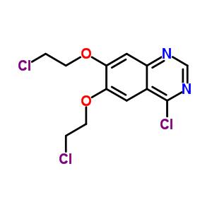 183322-21-6 4-chloro-6,7-bis(2-chloroethoxy)quinazoline