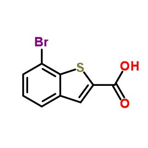 7-溴苯并[b]噻吩-2-羧酸 19075-59-3