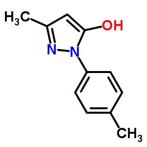 2046-03-9 3-Methyl-1-(4-methylphenyl)-1H-pyrazol-5-ol