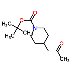 206989-54-0 tert-butyl 4-(2-oxopropyl)piperidine-1-carboxylate