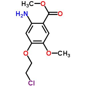 214470-60-7 methyl 2-amino-4-(2-chloroethoxy)-5-methoxybenzoate