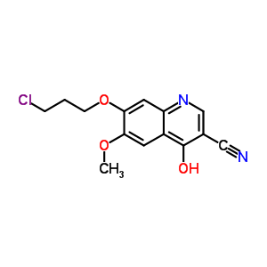 214470-66-3 7-(3-chloropropoxy)-4-hydroxy-6-methoxyquinoline-3-carbonitrile