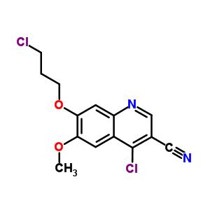 214470-68-5 4-chloro-7-(3-chloropropoxy)-6-methoxyquinoline-3-carbonitrile