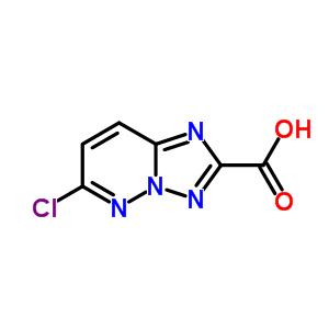 215530-62-4 6-chloro[1,2,4]triazolo[1,5-b]pyridazine-2-carboxylic acid