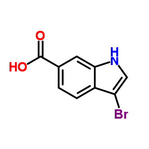 219508-19-7 3-bromo-1H-indole-6-carboxylic acid