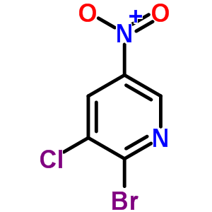22353-41-9 2-bromo-3-chloro-5-nitropyridine