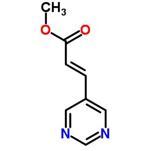 224776-14-1;866621-24-1 methyl (2E)-3-(pyrimidin-5-yl)prop-2-enoate