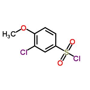 22952-43-8 3-chloro-4-methoxybenzenesulfonyl chloride