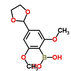 232275-38-6 [4-(1,3-dioxolan-2-yl)-2,6-dimethoxyphenyl]boronic acid