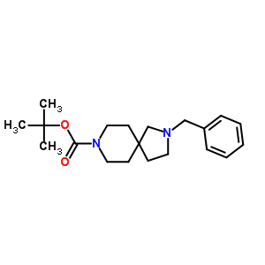 236406-40-9 tert-butyl 2-benzyl-2,8-diazaspiro[4.5]decane-8-carboxylate