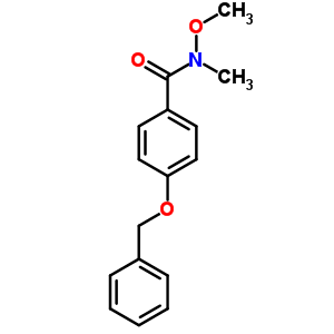252199-28-3 4-(benzyloxy)-N-methoxy-N-methylbenzamide