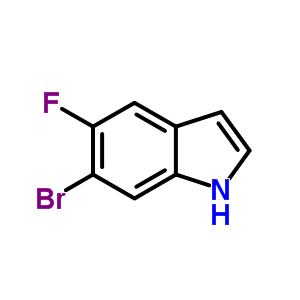 6-溴-5-氟吲哚