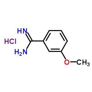 26113-44-0 3-methoxybenzenecarboximidamide hydrochloride (1:1)