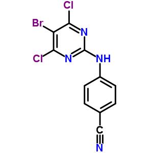 269055-75-6 4-[(5-bromo-4,6-dichloropyrimidin-2-yl)amino]benzonitrile