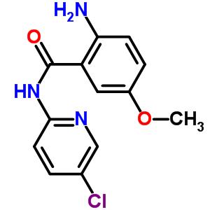 280773-17-3 2-amino-N-(5-chloropyridin-2-yl)-5-methoxybenzamide