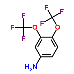 2965-07-3 3,4-Bis(trifluoromethoxy)aniline