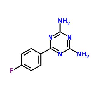 30530-44-0 6-(4-fluorophenyl)-1,3,5-triazine-2,4-diamine