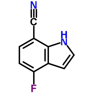 313337-33-6 4-fluoro-1H-indole-7-carbonitrile