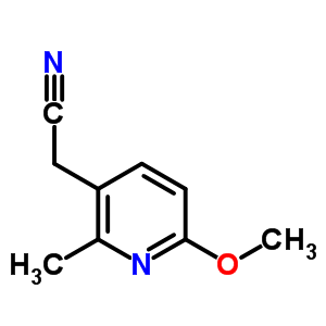 32383-10-1 (6-methoxy-2-methylpyridin-3-yl)acetonitrile