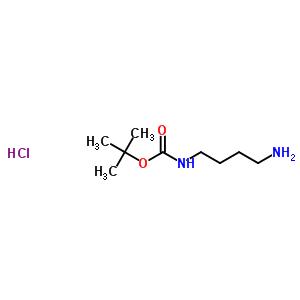33545-98-1 4-[(tert-butoxycarbonyl)amino]butan-1-aminium chloride