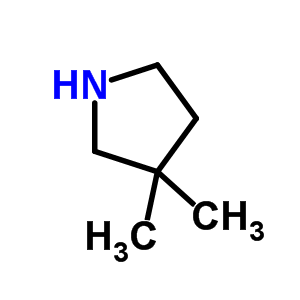 3437-30-7 3,3-dimethylpyrrolidine