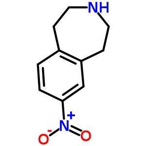34583-83-0 7-Nitro-2,3,4,5-tetrahydro-1H-3-benzazepine