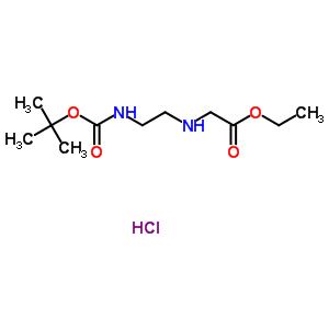 N-(BOC-氨基乙基)甘氨酸乙酯盐酸盐 347890-34-0