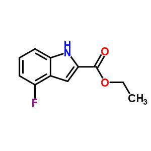 4-氟吲哚-2-羧酸乙酯 348-32-3