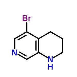 351457-97-1 5-bromo-1,2,3,4-tetrahydro-1,7-naphthyridine
