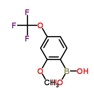 355836-10-1 [2-methoxy-4-(trifluoromethoxy)phenyl]boronic acid