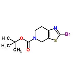 2-溴-6,7-二氢噻唑并[5,4-C]吡啶-5(4H)-甲酸叔丁酯 365996-06-1