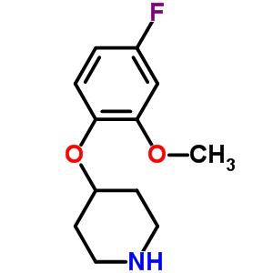 367501-04-0 4-(4-fluoro-2-methoxyphenoxy)piperidine