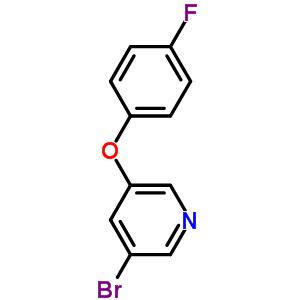 374935-03-2 3-bromo-5-(4-fluorophenoxy)pyridine