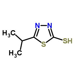 37663-52-8 5-(propan-2-yl)-1,3,4-thiadiazole-2-thiol