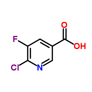 38186-86-6 6-chloro-5-fluoropyridine-3-carboxylic acid