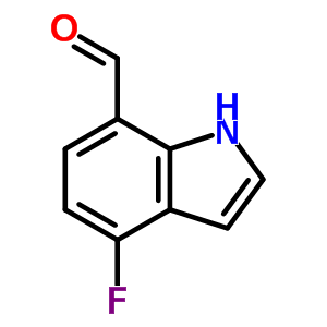 389628-19-7 4-fluoro-1H-indole-7-carbaldehyde
