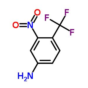 3-硝基-4-三氟甲基苯胺 393-80-6
