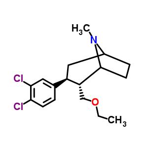 402856-42-2 (2R,3S)-3-(3,4-dichlorophenyl)-2-(ethoxymethyl)-8-methyl-8-azabicyclo[3.2.1]octane