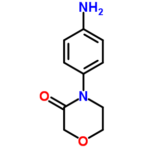 4-(4-AMINOPHENYL)MORPHOLIN-3-ONE 438056-69-0