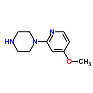 444666-41-5 1-(4-methoxypyridin-2-yl)piperazine
