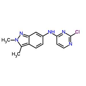 N-(2-chloropyrimidin-4-yl)-2,3-dimethyl-2H-indazol-6-amine 444731-74-2